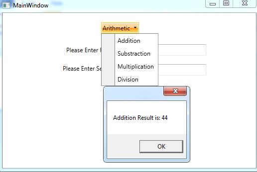 RadDropDownButton for WPF – MVC Corporation